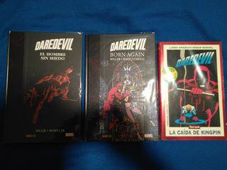 3 cómics Daredevil y All-Star Superman