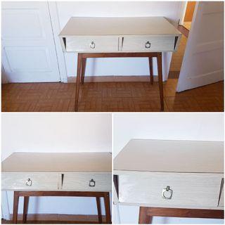 Dormitorio vintage formica comoda mesillas armari
