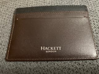 Tarjetero Hackett