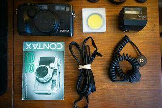 Contax G2+35mm