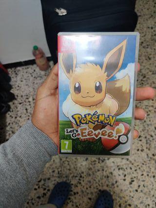 Pokemon let's go Eevee Nintendo switch