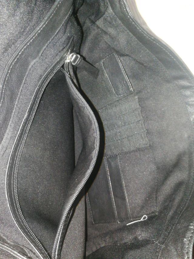 maletín piel Calvin klein negro