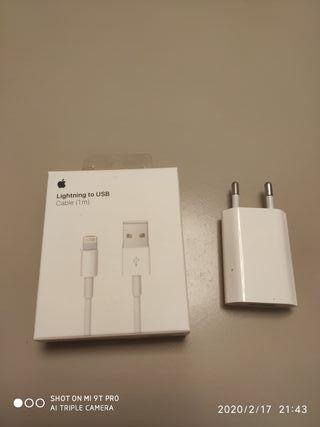 cable más cargador apple