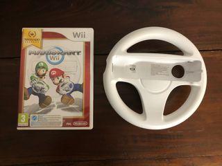 Videojuego Mario kart para Nintendo Wii