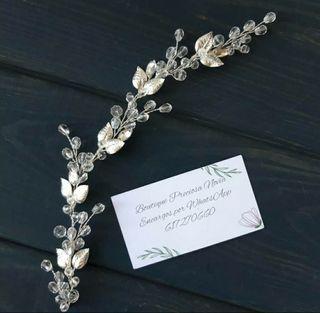 Tiara de novia tocado de novia invitada boda joya