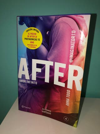 Libro After (Amor infinito)