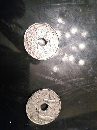 moneda 50 centimos 1963