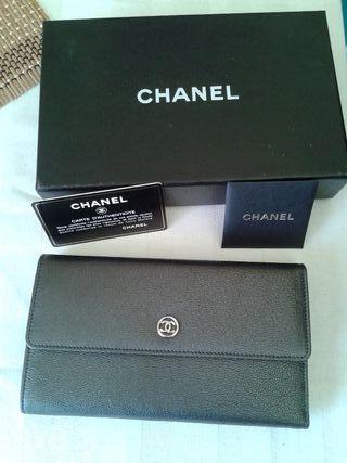 Cartera piel Chanel año 2006 sin uso