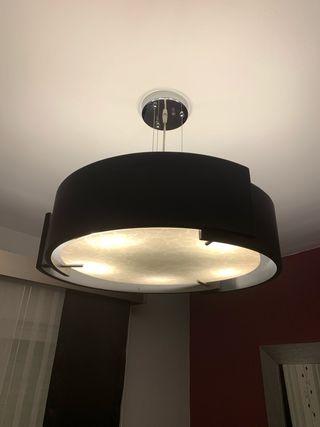 Lámparas Salón color negro