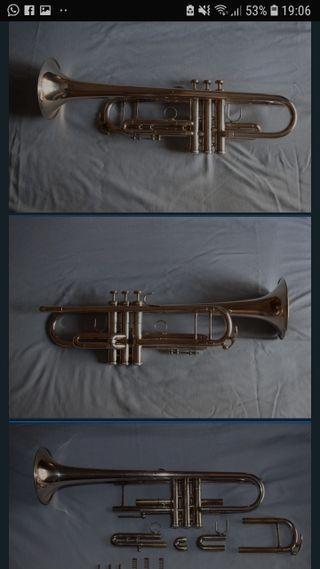 Cambio Trompeta Sib King Silver Flair