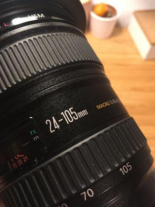 Objetivo Canon 24-105 f4