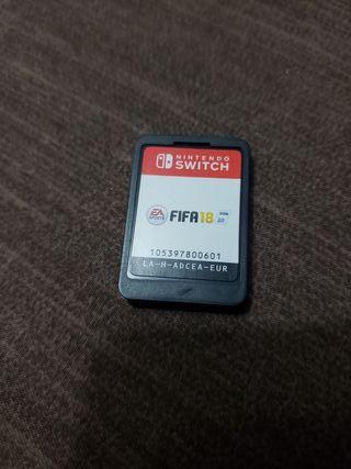 juego Nintendo switch fifa 18