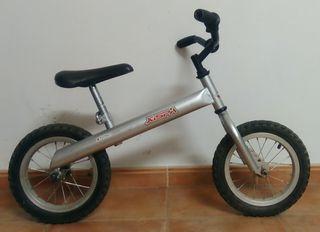bicicleta sin pedales para iniciarse