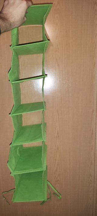 zapatero colgante IKEA