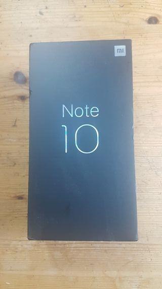 Xiaomi Mi Note 10 nuevo sin abrir (precintado)