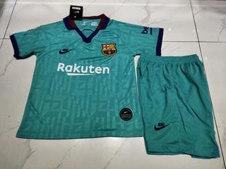 Camiseta Pantalón niño Barcelona Barça 2020 Azul