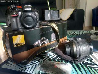 Nikon D5300 + OBJECTIF Nikkor 18-105 VR + HOUSSE