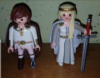 playmobil Astrid Hipo boda matrimonio vikingos