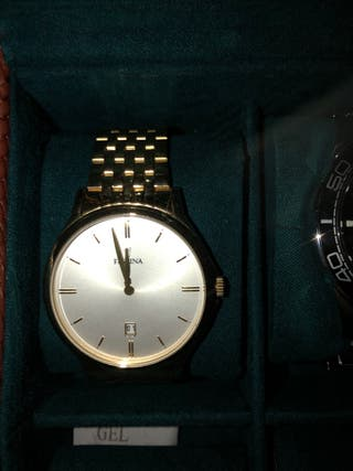 Reloj dorado (Festina)