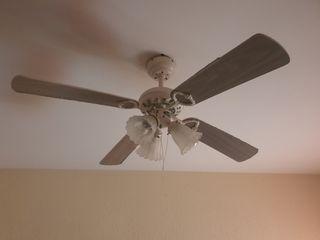 ventilador techo con luz