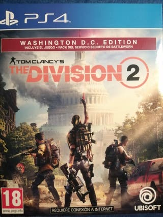 The division 2 Washington DC edition PS4