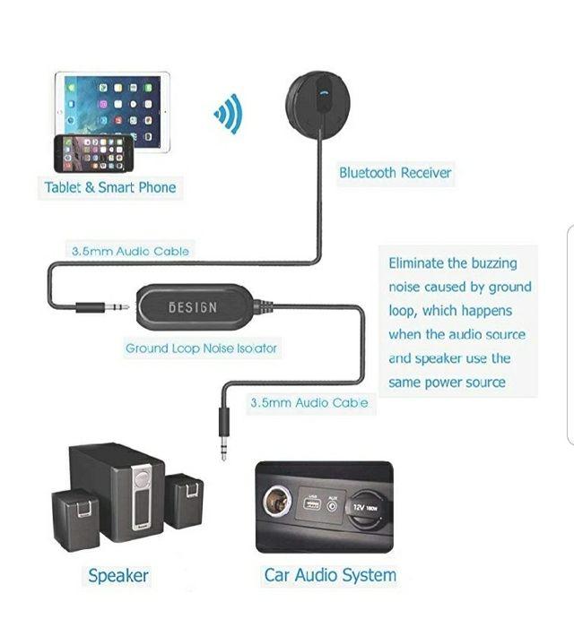 Bluetooth Para Coche mediante Auxiliar
