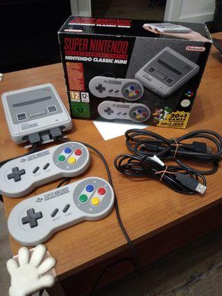 Consola Nintendo Snes