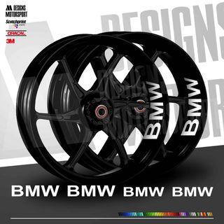 Stickers BMW interior llantas