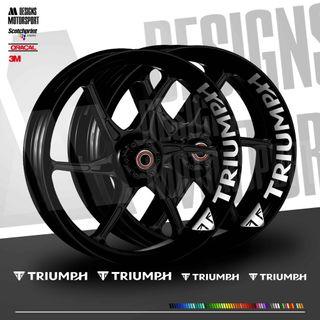Pliegos interior ruedas Triumph