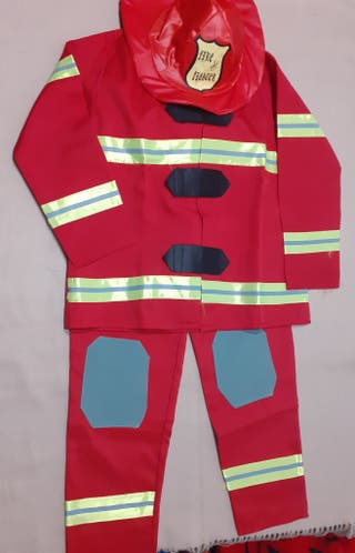 disfressa de bomber 7-9 anys