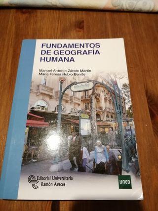 geografía humana Antropologia uned
