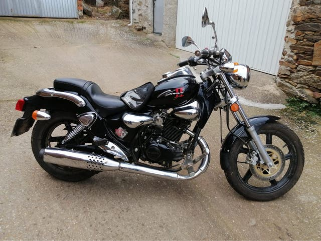 Moto 125cc kymco zing II
