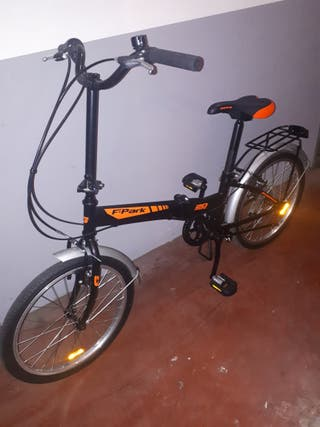 Bicicleta plegable. Folding park 20