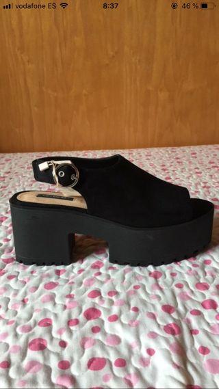Zapatos verano nuevos pull&bear