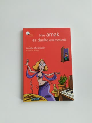 Libro literatura juvenil, euskera