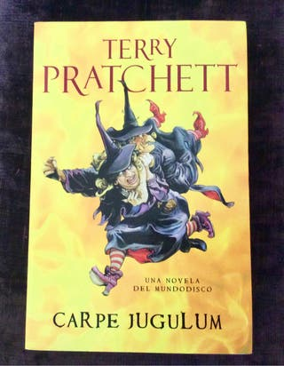 CARPE JUGULUM Mundodisco Terry Pratchett