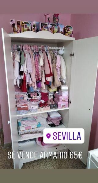 Se vende armario bebé/niño