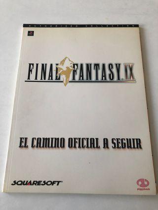Guía oficial Final Fantasy IX