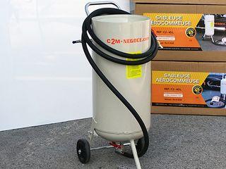 Arenadora, maquina de chorro de arena 31 litros
