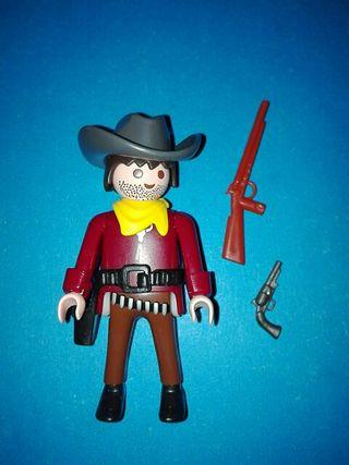 playmobil vaquero pistolero oeste sudista nordista