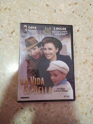 La vida es bella DVD nueva