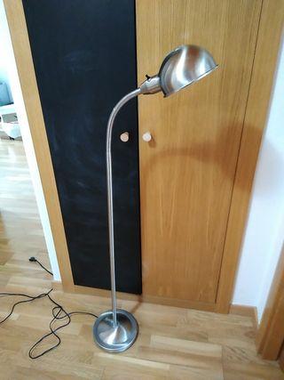 Lampara de pie flexible Ikea vintage