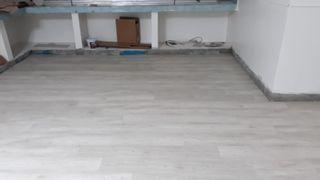 montador de suelo laminados