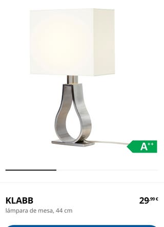 Lámparas de mesa Klabb Ikea