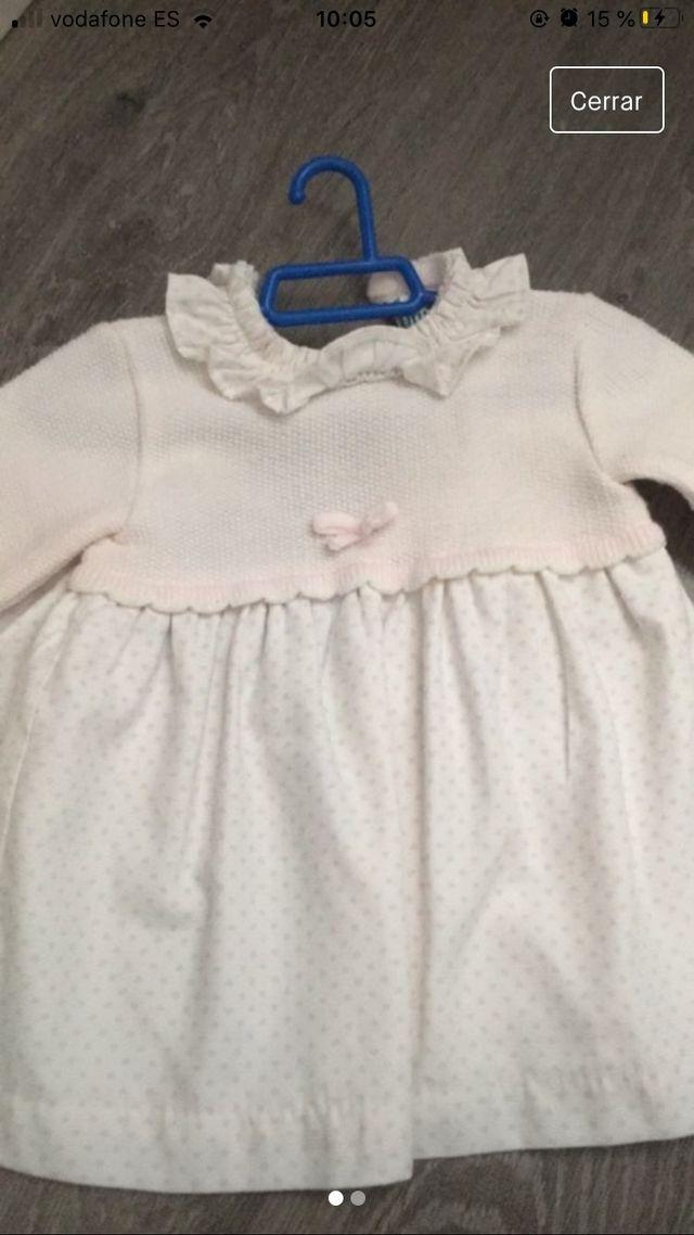Vestido Miranda lana talla 9 meses
