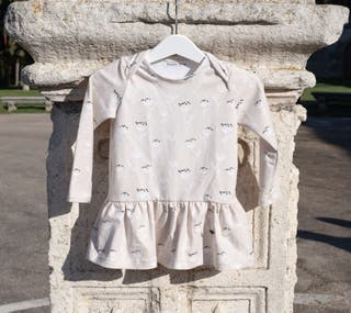 Vestido en algodón orgánico, 18 meses (nuevo)