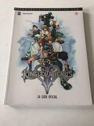 Guía oficial Kingdom Hearts II (nueva)