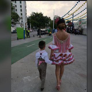 Trajes de gitana mujer y niños