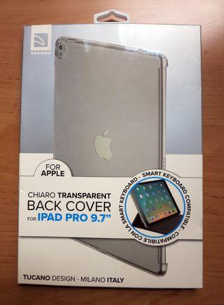 """Funda Tucano iPad Pro 9,7"""" transparente(NUEVA)"""