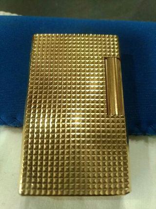 Mechero Dupont de oro